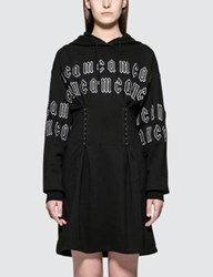 Mcq By Alexander Mcqueen Corset Hoodie Dress