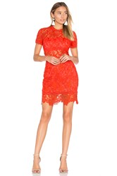 Lovers Friends Mon Amour Dress Red