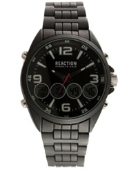 Kenneth Cole Reaction Men's Analog Digital Black Alloy Strap Watch 51X63mm 10030984