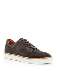 Kenneth Cole Prem Ium Lace Up Sneakers Grey Combo