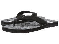 Quiksilver Carver Suede Art Black Grey Grey Men's Sandals