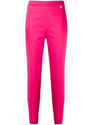 Twin Set Slim Fit Tousers Pink