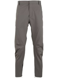 Lanvin Ankle Zip Trousers Grey