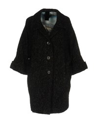 Femme By Michele Rossi Coats Steel Grey