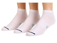 Wrightsock Ultra Thin Lo 3 Pair Pack White Low Cut Socks Shoes