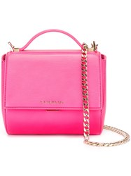 Givenchy Mini 'Pandora Box' Shoulder Bag Pink Purple