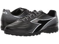Diadora Mago R Tf Black White Grey Soccer Shoes