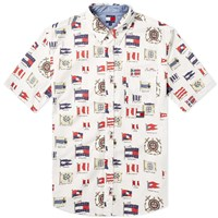 Tommy Jeans Summer All Over Print Shirt White