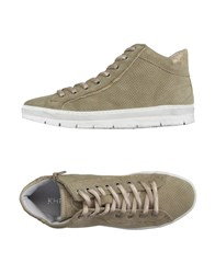 Khrio' Footwear High Tops And Trainers Women Beige