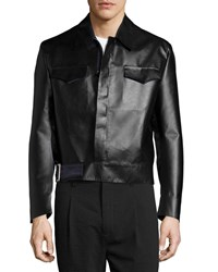 Cnc Costume National Long Sleeve Sports Jacket Black
