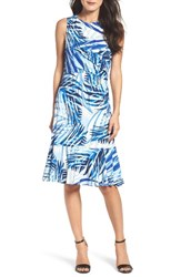 Eliza J Women's Print Midi Dress