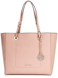 Michael Michael Kors Walsh Tote Women Leather One Size Pink Purple