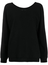 Barbara Bui Cashmere Round Neck Jumper Black