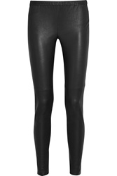 Michael Michael Kors Stretch Leather Leggings