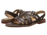 Bass Amidy Cocoa Atanado Leather Women's Sandals Bronze