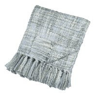 Dkny Boucle Throw 127X152cm Light Blue