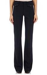 Chloe Women's Boot Cut Trousers Blue