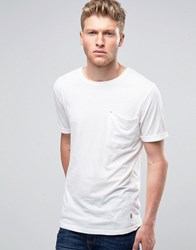 Ringspun Pocket Slouch T Shirt White