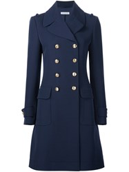 Altuzarra Double Breasted Coat Blue