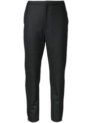 Aula Cropped Trousers Black