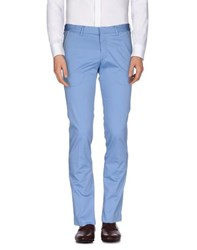 Manuel Ritz Trousers Casual Trousers Men Pastel Blue