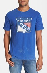 Men's Red Jacket 'Deadringer New York Rangers' T Shirt