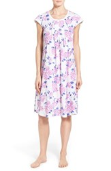 Women's Carole Hochman Designs Floral Cotton Nightgown