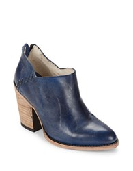Freebird Leather Ankle Boots Blue