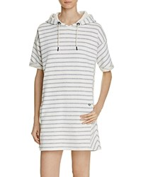 Barbour Hooded Dive Dress White
