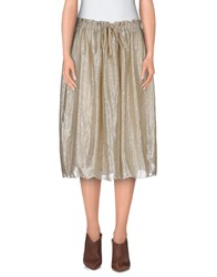 Attic And Barn Attic And Barn Skirts Knee Length Skirts Women Sand