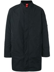 Nike Fc Long Fit Bomber Jacket Black