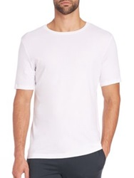 Hanro Cotton T Shirt White