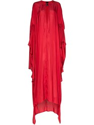 Ann Demeulemeester Cut Out Draped Gown 60