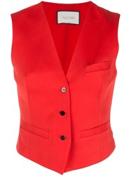 Alexis Gilet Style Vest Red