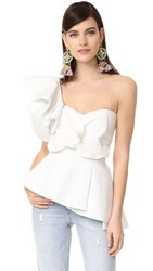 Stylekeepers So Long Lover Ruffled Top White