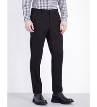 Givenchy Classic Wool Trousers Black