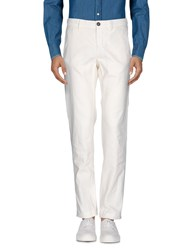 Incotex Red Casual Pants Ivory