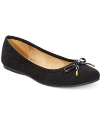 Style And Co. Addia Ballet Flats Only At Macy's Women's Shoes Black