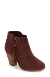 Sole Society Women's 'Zada' Bootie Women Red Wine Suede