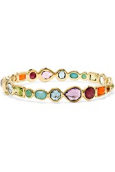 Ippolita Rock Candy 18 Karat Gold Multi Stone Bracelet One Size