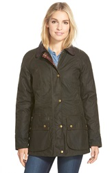 Barbour 'Tors' Waxed Cotton Jacket Olive