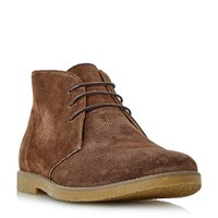 Linea Coop Casual Lace Up Boots Dark Brown