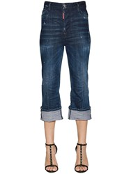 Dsquared Cropped Flared Denim Jeans