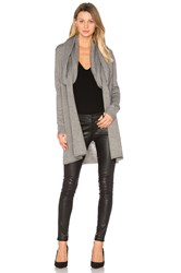 Ty Lr The Fall Knit Cardigan Grey