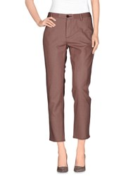 Pence Trousers Casual Trousers Women Light Brown