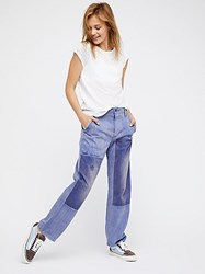 We The Free Slouchy Patched Boyfriend Jeans By
