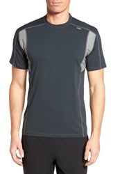 Tasc Performance Men's Charge Semi Fitted T Shirt Gunmetal