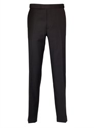 Paul Costelloe Tailored Fit Dinner Suit Trousers Black