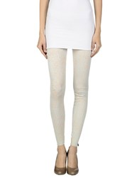 Met And Friends Trousers Leggings Women Ivory