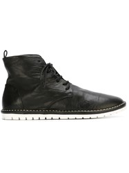 Marsa Ll Lace Up Ankle Booties Black